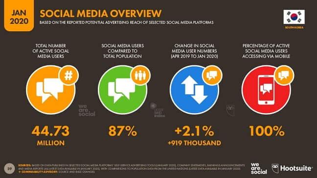 Social Media Overview 2020